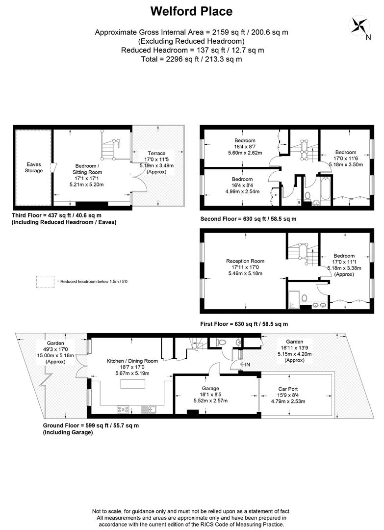Floorplan for Welford Place, Wimbledon Village
